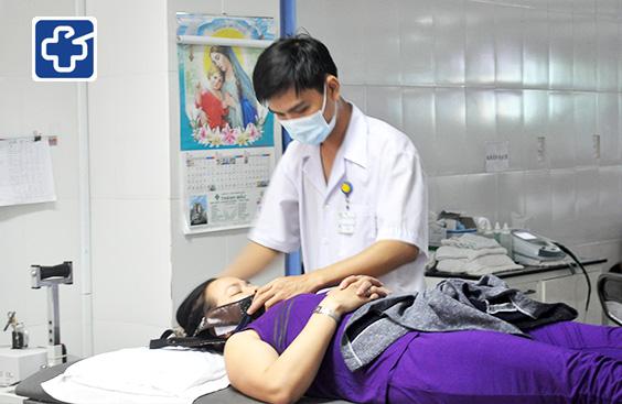 Vật lý trị liệu điều trị thoái hóa cột sống cổ