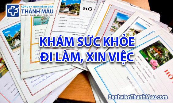 kham suc khoe di lam kham suc khoe di hoc quan tan binh tphcm