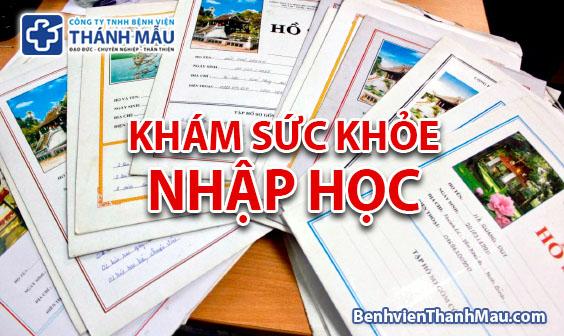 kham suc khoe nhap hoc kham suc khoe di hoc quan tan binh tphcm