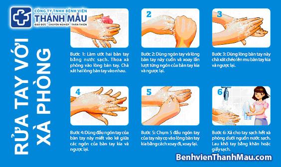 Rửa tay với xà phòng tránh được nhiều bệnh truyền nhiễm nguy hiểm