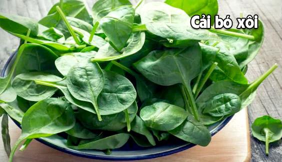 cai bo xoi rat giau protein  6 loại rau, hạt chứa nhiều protein còn hơn cả thịt cai bo xoi rat giau protein